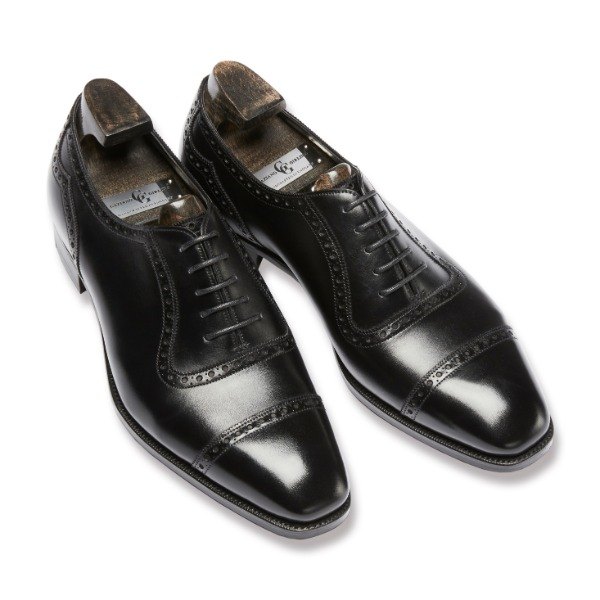 GAZIANO & GIRLING SAINT JAMES II BLACK CALF  MH71 LAST