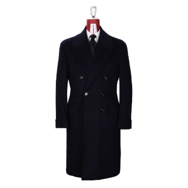 LIVERANO & LIVERANO ULSTER COAT / W.BILL DARK NAVY PRODUCT. 53