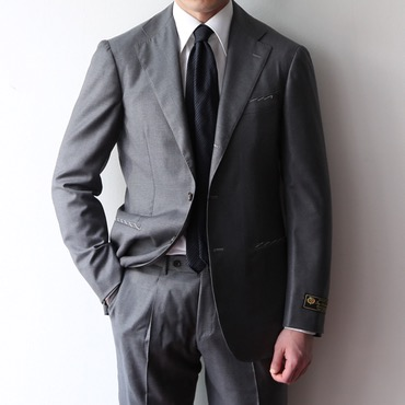[ONE SIZE SALE] RING JACKET X ANDREA SEOUL H GRADE(링마에) / ITALY, LORO PIANA MID LIGHT GREY SUITS