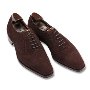 GAZIANO & GIRLING SAINT JAMES II MOLE SUEDE TG73 LAST