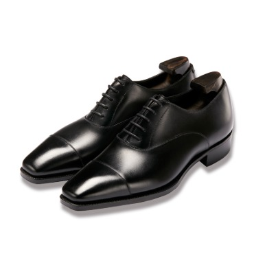 GAZIANO & GIRLING OXFORD BLACK CALF TG73 LAST