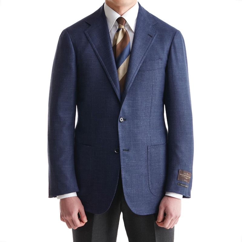 ANDREA SEOUL BLACK LABEL X RING JACKET (블랙라벨 등급) SPORTS COAT X ITALY, VITALE BARBERIS CANONICO ROYAL BLUE