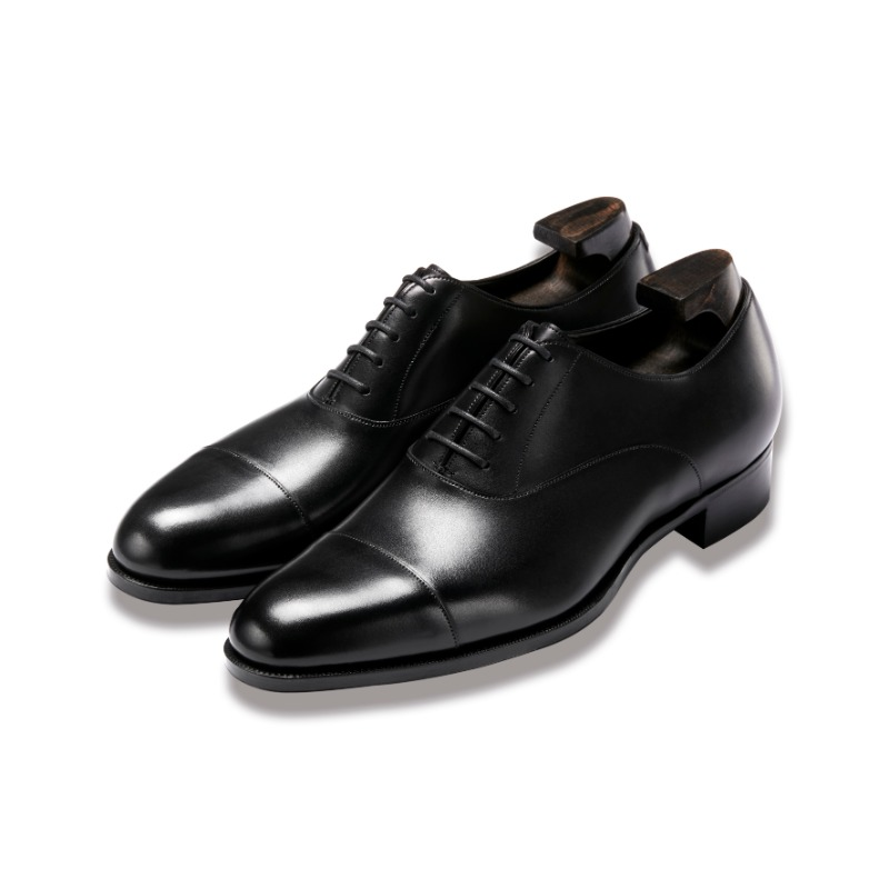 GAZIANO & GIRLING OXFORD BLACK CALF GG06 LAST