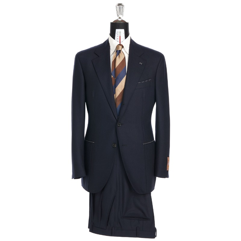 CORALLO ROSSO SUITS(JACKET+PANTS) X SCOTLAND, LOVAT BARD BUNCH DARK NAVY