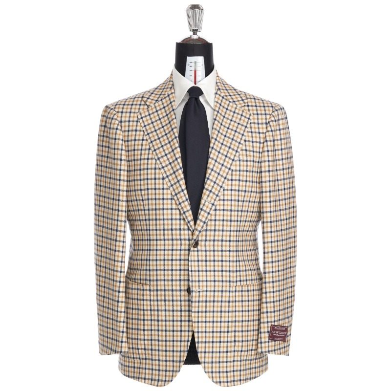 ANDREA SEOUL H GRADE X RING JACKET (링마에등급) SPORTS COAT X ENGLAND, HOLLAND & SHERRY ASCOT GINGHAM CHECK SPORTS COAT