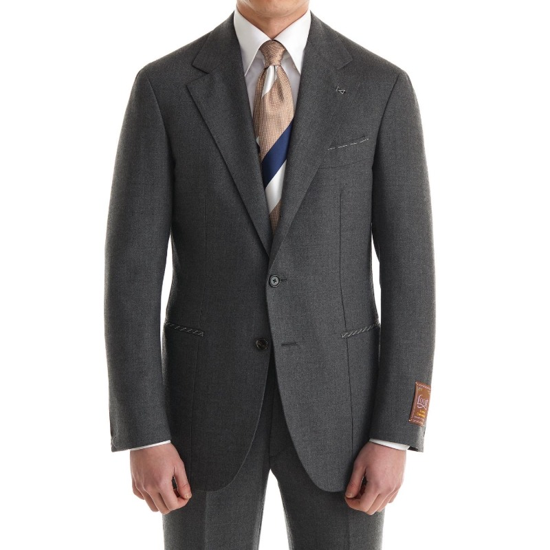 CORALLO ROSSO SUITS(JACKET+PANTS) X SCOTLAND, LOVAT BARD BUNCH MID GREY