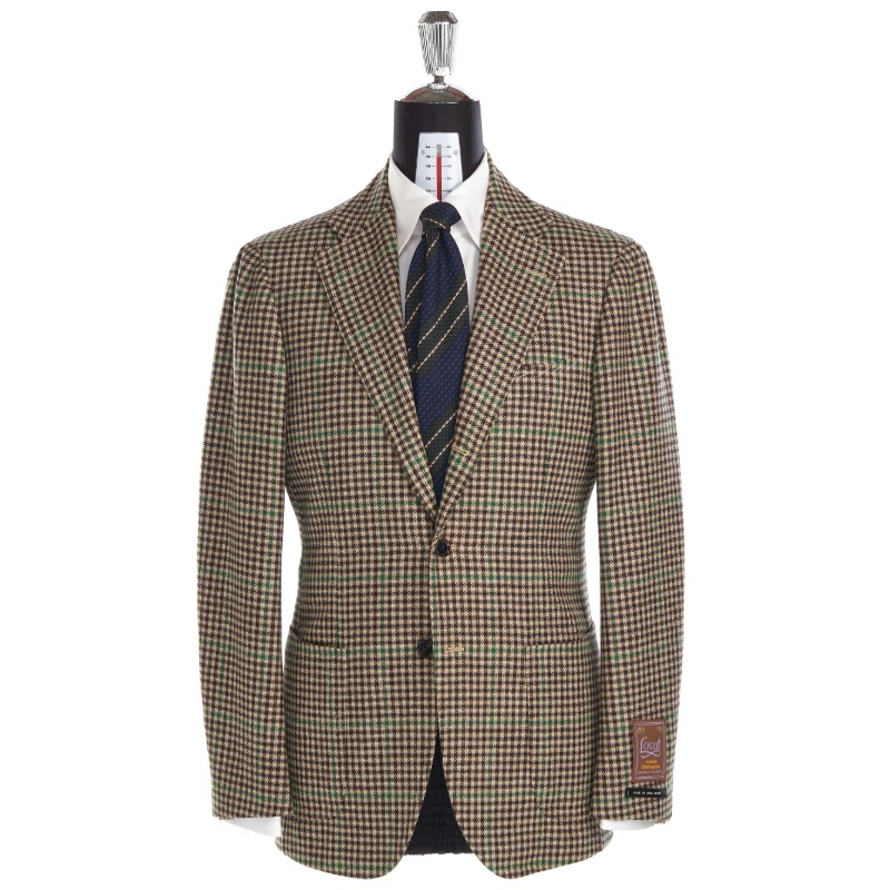 ANDREA SEOUL H GRADE X RING JACKET (링마에등급) SPORTS COAT X SCOTLAND, LOVAT TWEED, TEVIOT BUNCH GUN CLUB CHECK