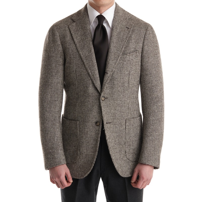 CASA DEL SARTO BLACK LABEL (SARTORIA 金珉秀 패턴) SPORTS COAT X MARLING & EVANS  NATURAL COLOR TWEED
